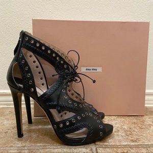 Miu Miu Calzature Donna Heel Black size 37.5